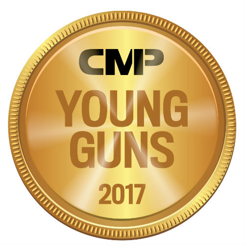 CMP Young Guns award recipient! Thank you!
