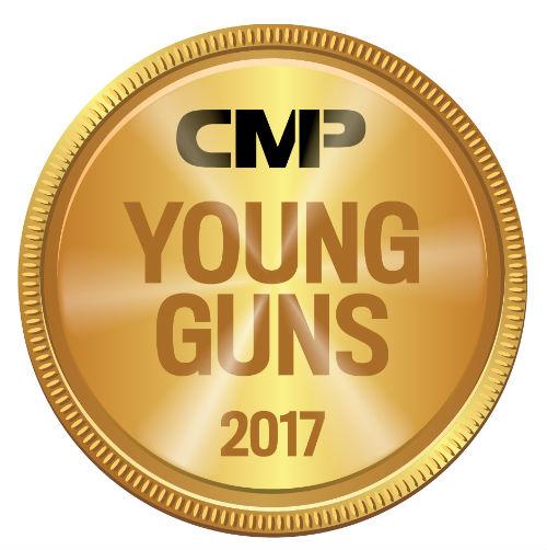 CMP Young Guns 2017 medal